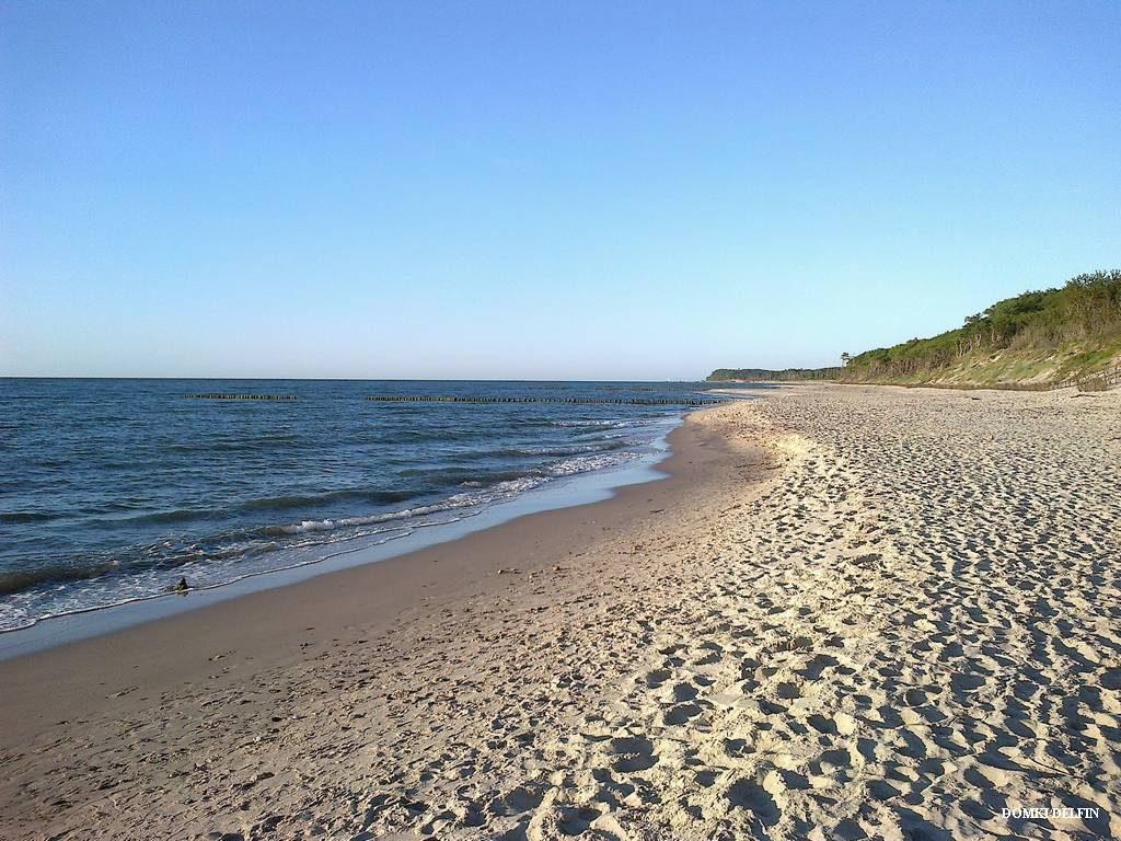 plaża w Wicie nad morzem